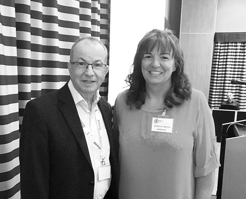 Prof. Amos Gilhar aus Israel und Kerstin Zienert